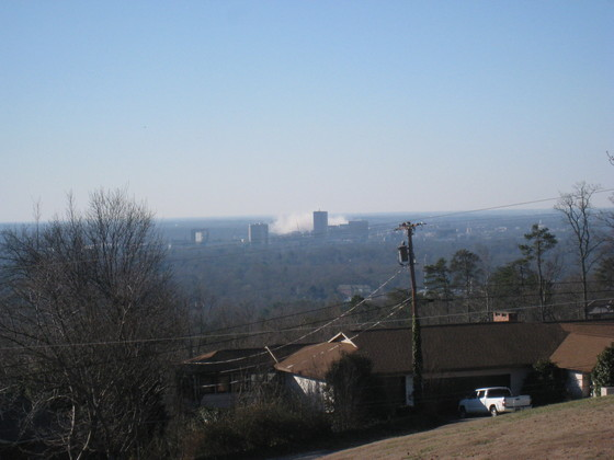 Scott Towers Smoke Cloud