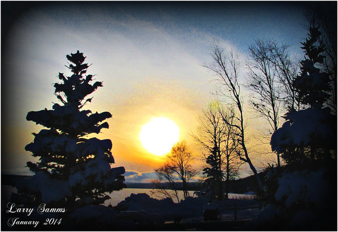 """An End of a Beautiful Day"" Springdale, Newfoundland and Labrador Canada"