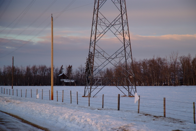 Blown Leduc Construction Refuse Leduc, Alberta Canada