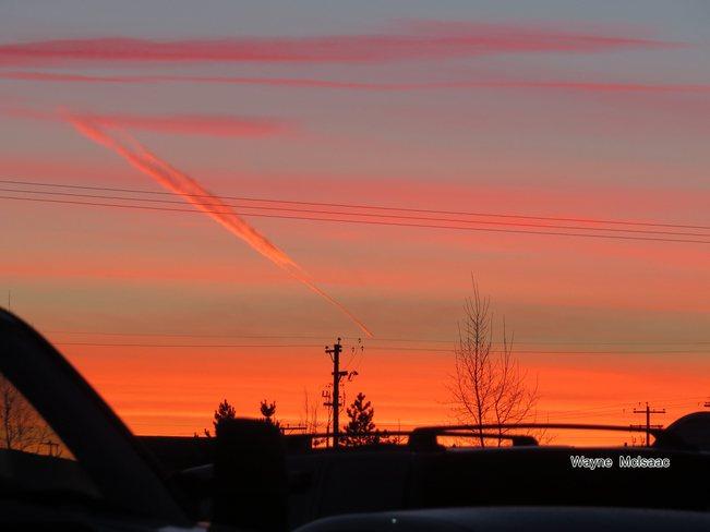 morning sky Sherwood Park, Alberta Canada