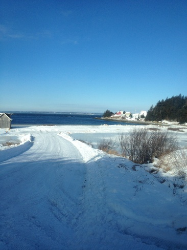 New Years Day Canso, Nova Scotia Canada