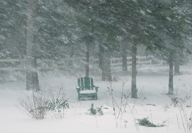 Uh oh, I forgot to bring in the lawn chair! Tusket, Nova Scotia Canada