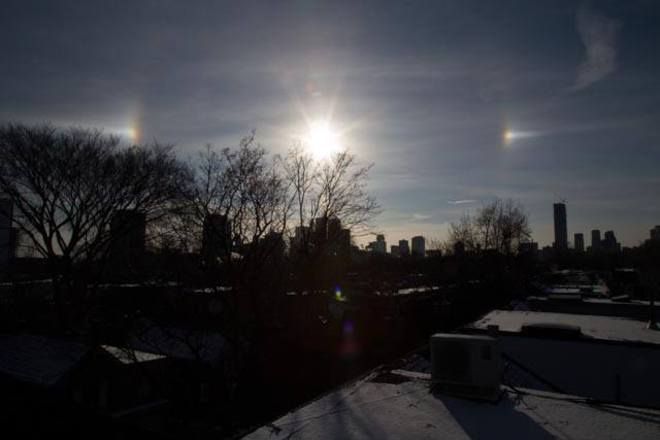 Winter Halo Cabbagetown-South St. James Town, Ontario Canada