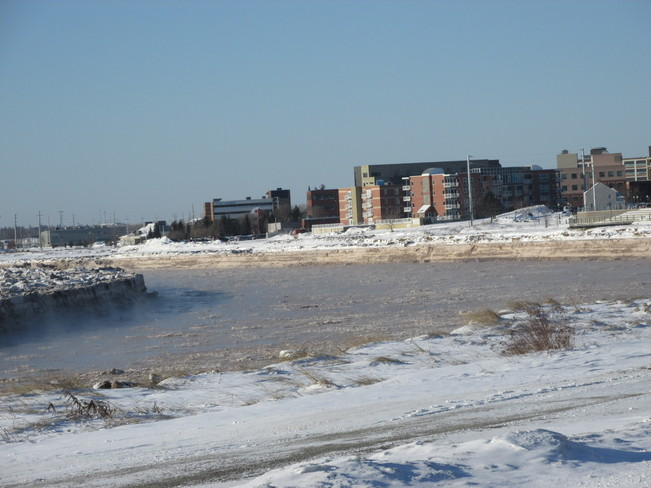 Along the Riverfront This Morning Moncton, New Brunswick Canada
