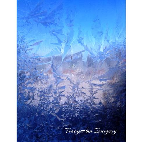 Frosty morning St. Catharines, Ontario Canada