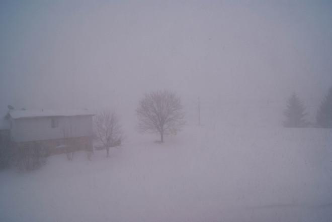 snow... Walkerton, Ontario Canada