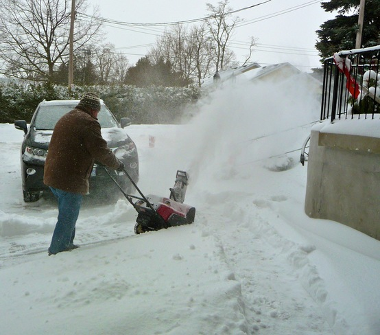 clearing all that drifting snow! 2 Port Hope, Ontario Canada