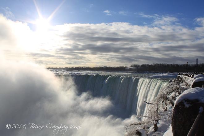 Sunrise Over Niagara Falls Niagara Falls, Ontario Canada