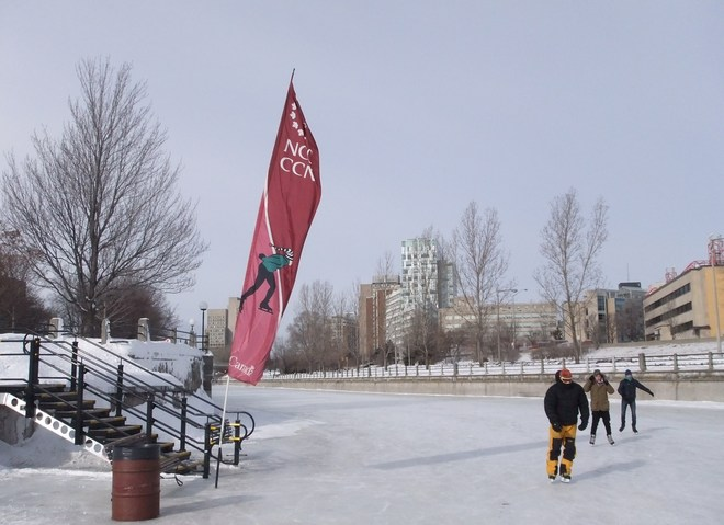 A cold Day on the Canal Ottawa, Ontario Canada