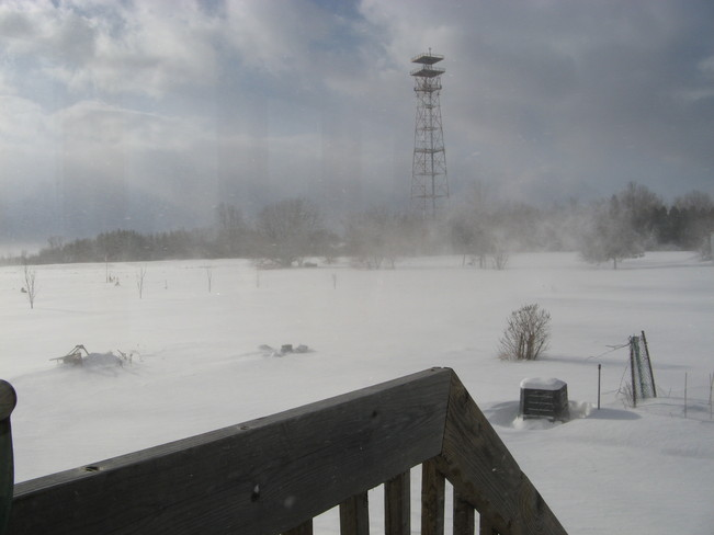 Blustery Day Kemptville, Ontario Canada