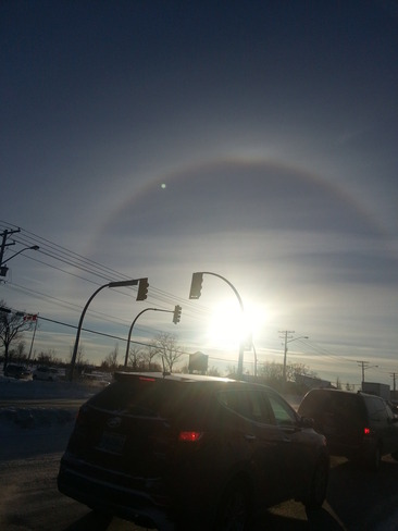 Full Sun Dog Headingley, Manitoba Canada