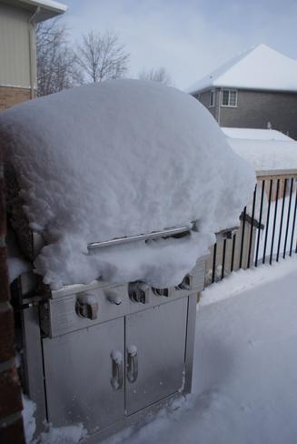 So much snow Belleville, Ontario Canada
