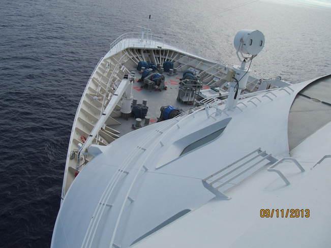 Cruise ship bridge tour Hilo, Hawaii United States