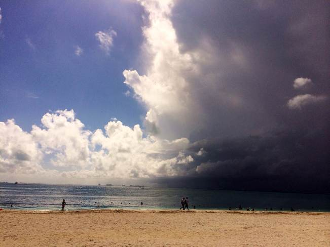 Cancun front Cancún, Quintana Roo Mexico