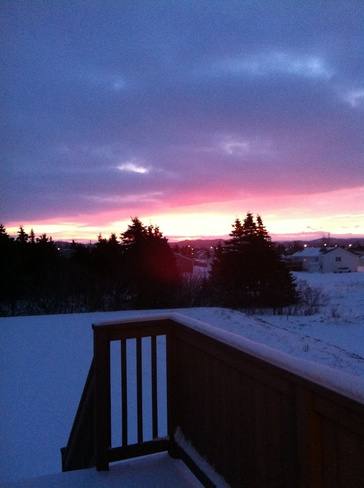 calm before the storm Kippens, Newfoundland and Labrador Canada