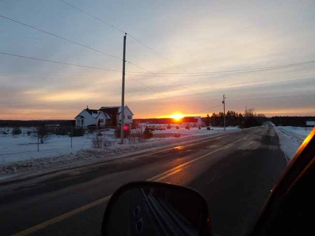 feb day 1 New Minas, Nova Scotia Canada