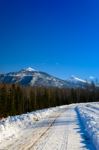 nice clear day Revelstoke, British Columbia Canada