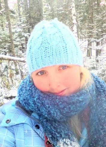 winter nature walk Canning, Nova Scotia Canada