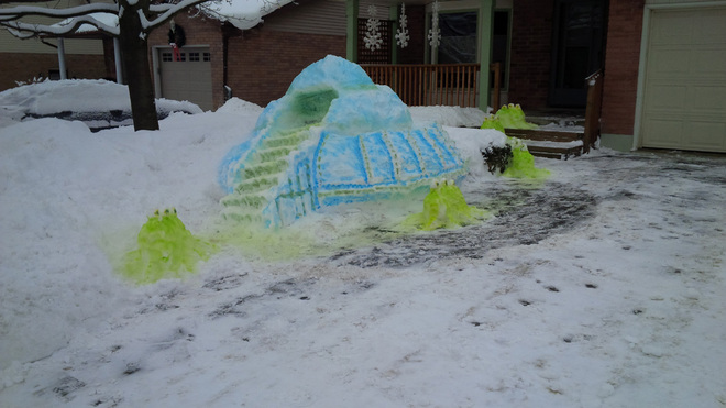 Aliens Have Landed in Kitchener Kitchener, Ontario Canada