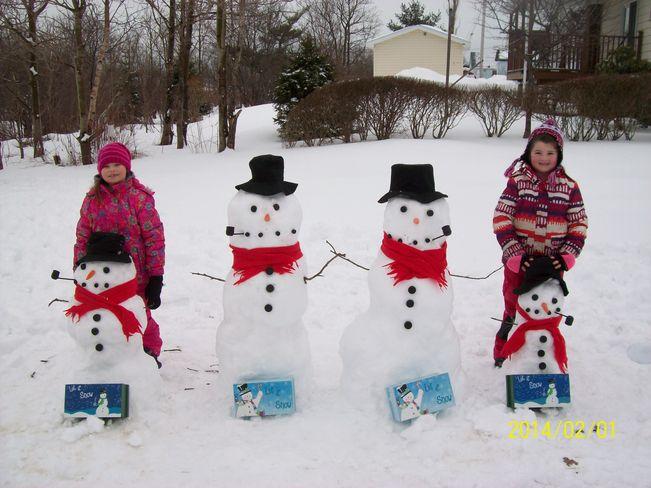 fun day in the snow Glace Bay, Nova Scotia Canada