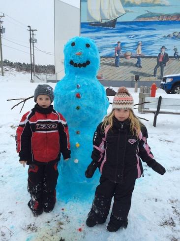 fun in the snow! Grand Bank, Newfoundland and Labrador Canada
