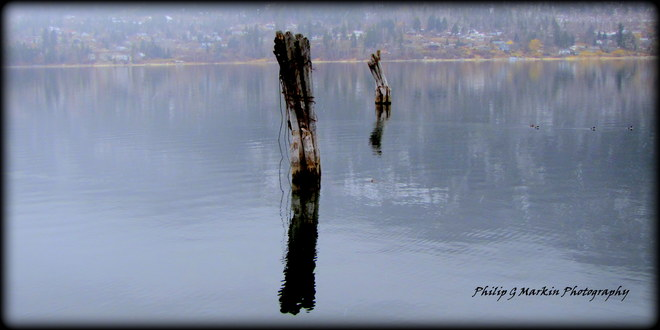 Reflections on Calm Waters Nelson, British Columbia Canada