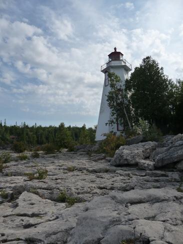 light house.. Tobermory, Ontario Canada