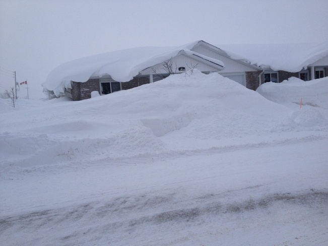 nice drifts Chesley, Ontario Canada