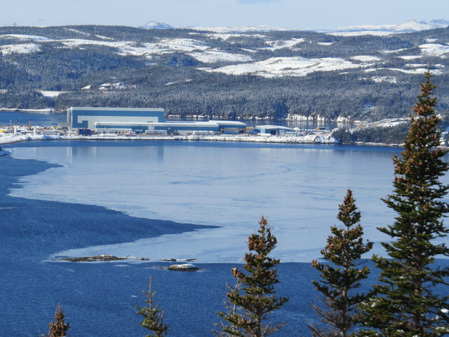 Ice in the Bay Marystown, Newfoundland and Labrador Canada