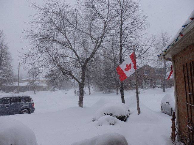 After Ground Hog day Streetsville, Ontario Canada