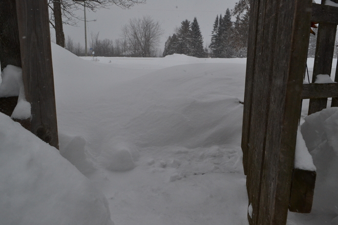 snowed in! Brockville, Ontario Canada