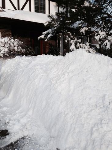 Lots of snow in Sarnia!!! Sarnia, Ontario Canada