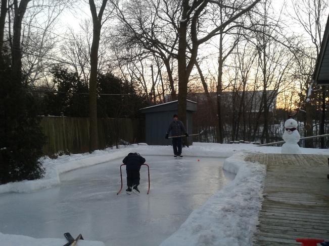 backyard fun Burlington, Ontario Canada