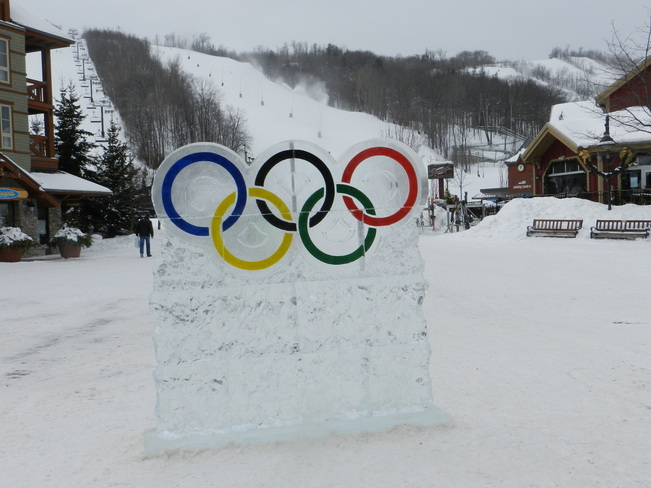 Olympic Spirit at Blue Collingwood, Ontario Canada