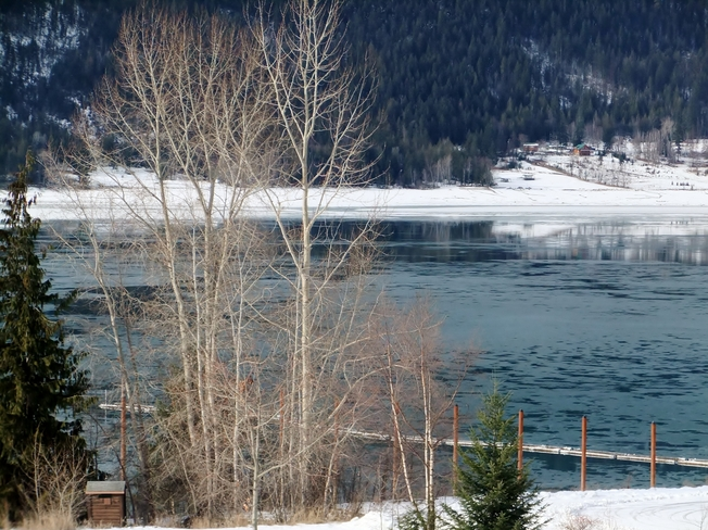 clear and cold Fauquier, British Columbia Canada