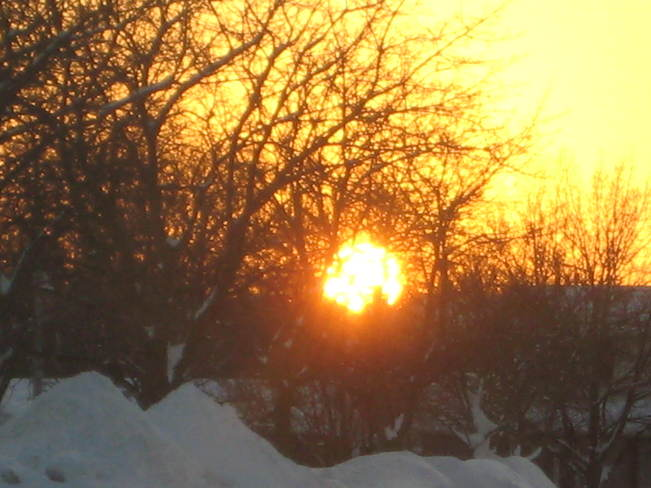 Sundown in Perth County Stratford, Ontario Canada
