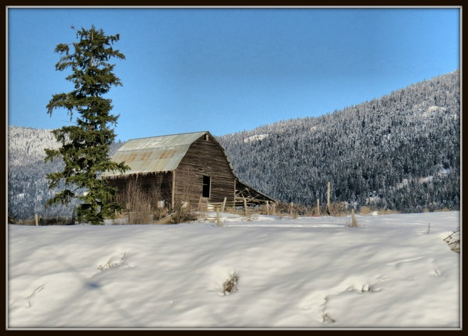 Lovely old barn in Armstrong Armstrong, British Columbia Canada