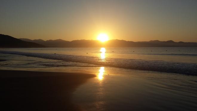Amazing sunrise Manzanillo, Colima Mexico