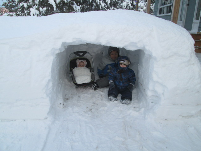 funtime igloo Acadieville, New Brunswick Canada