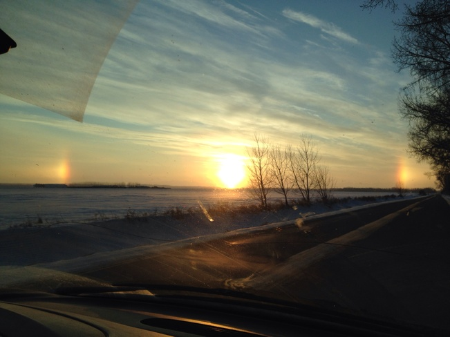 sundogs High River, Alberta Canada