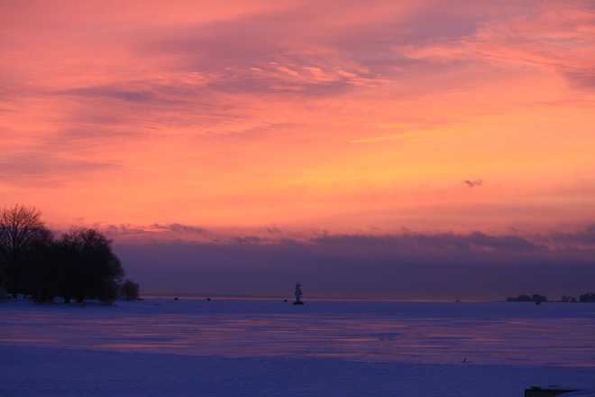sunrise on Brighton Bay Brighton, Ontario Canada