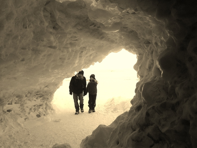 Ice Caves of Crystal Beach Fort Erie, Ontario Canada