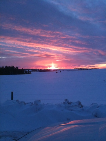 Days end Hazelgrove, Prince Edward Island Canada