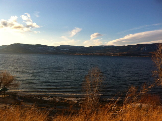 Cedar Creek Beach Kelowna, British Columbia Canada