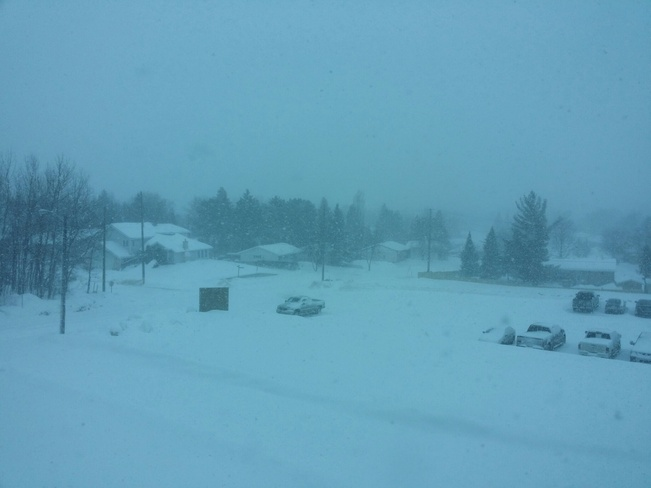 Snow is back! Thunder Bay, Ontario Canada