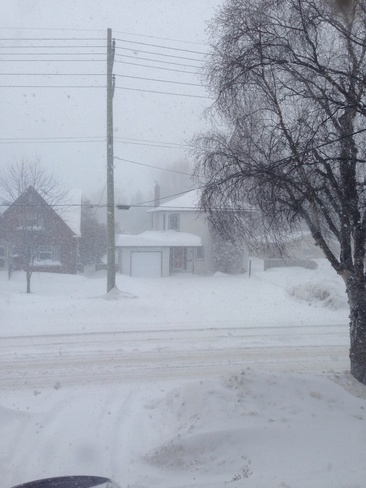 more and more snow Thunder Bay, Ontario Canada