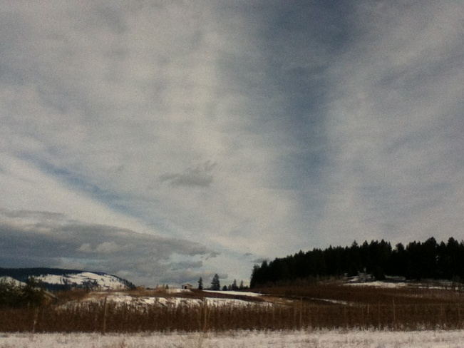 a beautiful overcast day South Vernon, British Columbia Canada