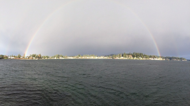 rainbow Sidney, British Columbia Canada