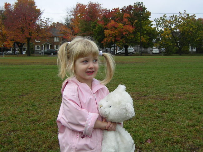 little shannon and i on a nice fall day Manotick, Ontario Canada