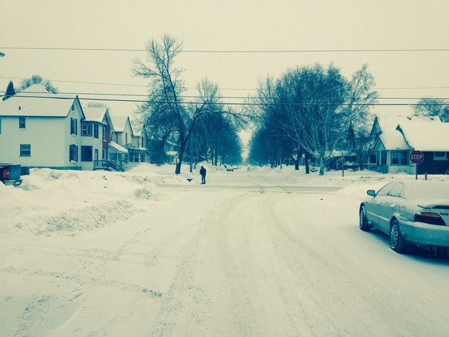 Its keeps coming and coming Thunder Bay, Ontario Canada